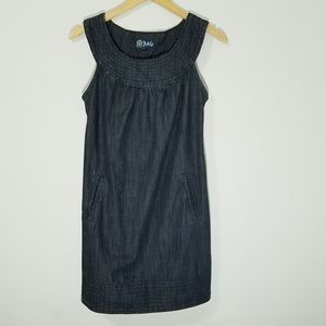 Anlo premium dark wash  denim mini dress 6